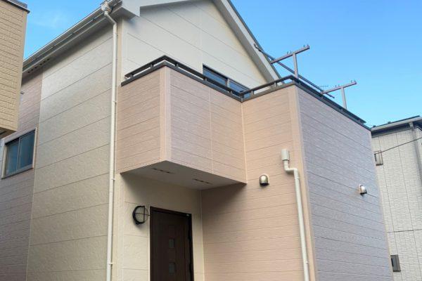 越谷市 外壁屋根塗装 28坪