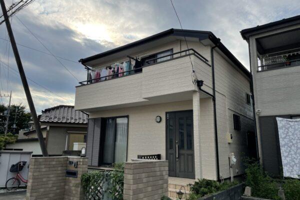 鶴ヶ島市 H様邸 外壁塗装 屋根塗装 屋根抜板・板金交換