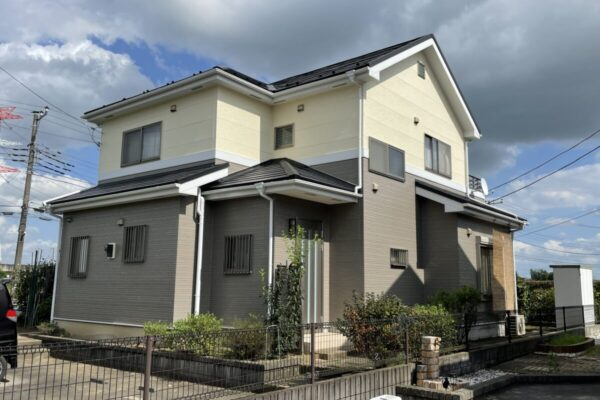 鴻巣市 外壁塗装 屋根カバー工事